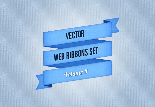 Web Ribbons Set - Vol 4