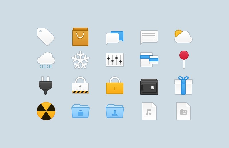 Webbies 32px Icons - Part 4