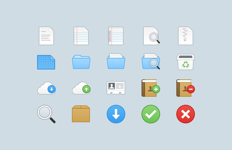 Webbies 32px Icons - Part 1