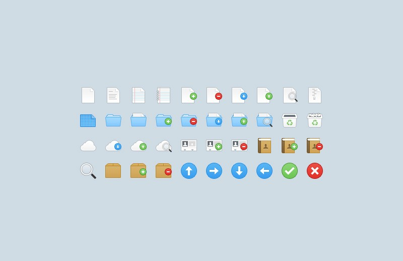 Large Webbies 32Px  Icons  Part 1  Preview 2A