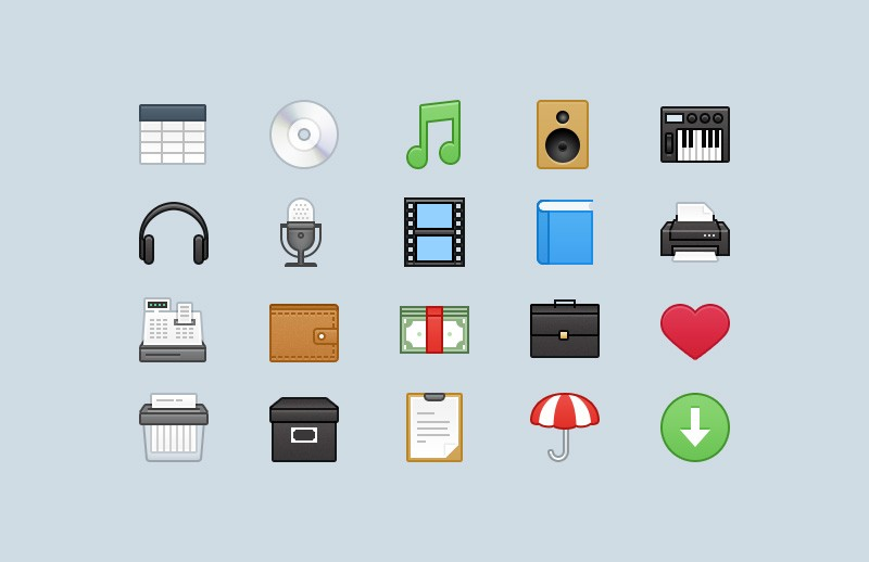 Webbies 32px Icons - Part 3