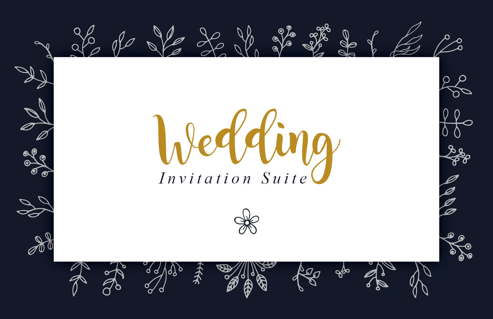 Wedding Invitation Suite Preview 1