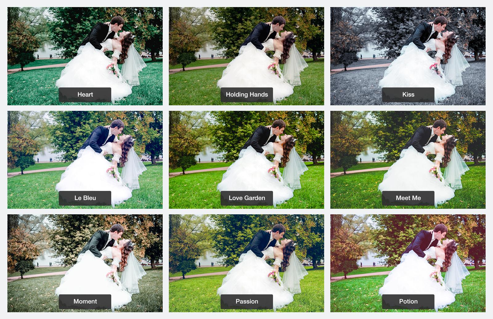 Wedding  Lightroom  Presets  Preview 4