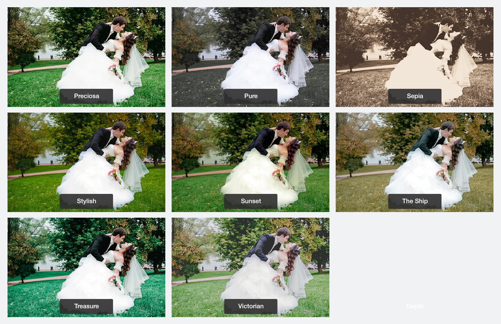Wedding  Lightroom  Presets  Preview 5