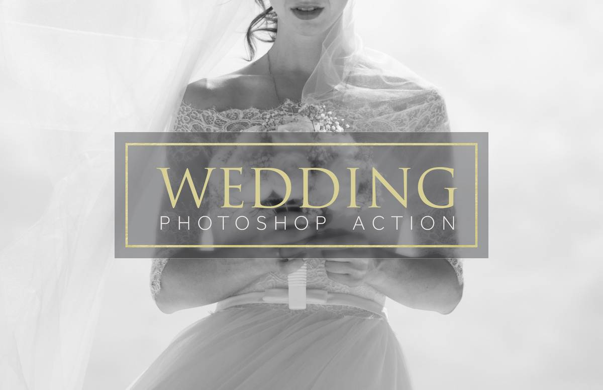 Wedding Photoshop Actions Preview 1