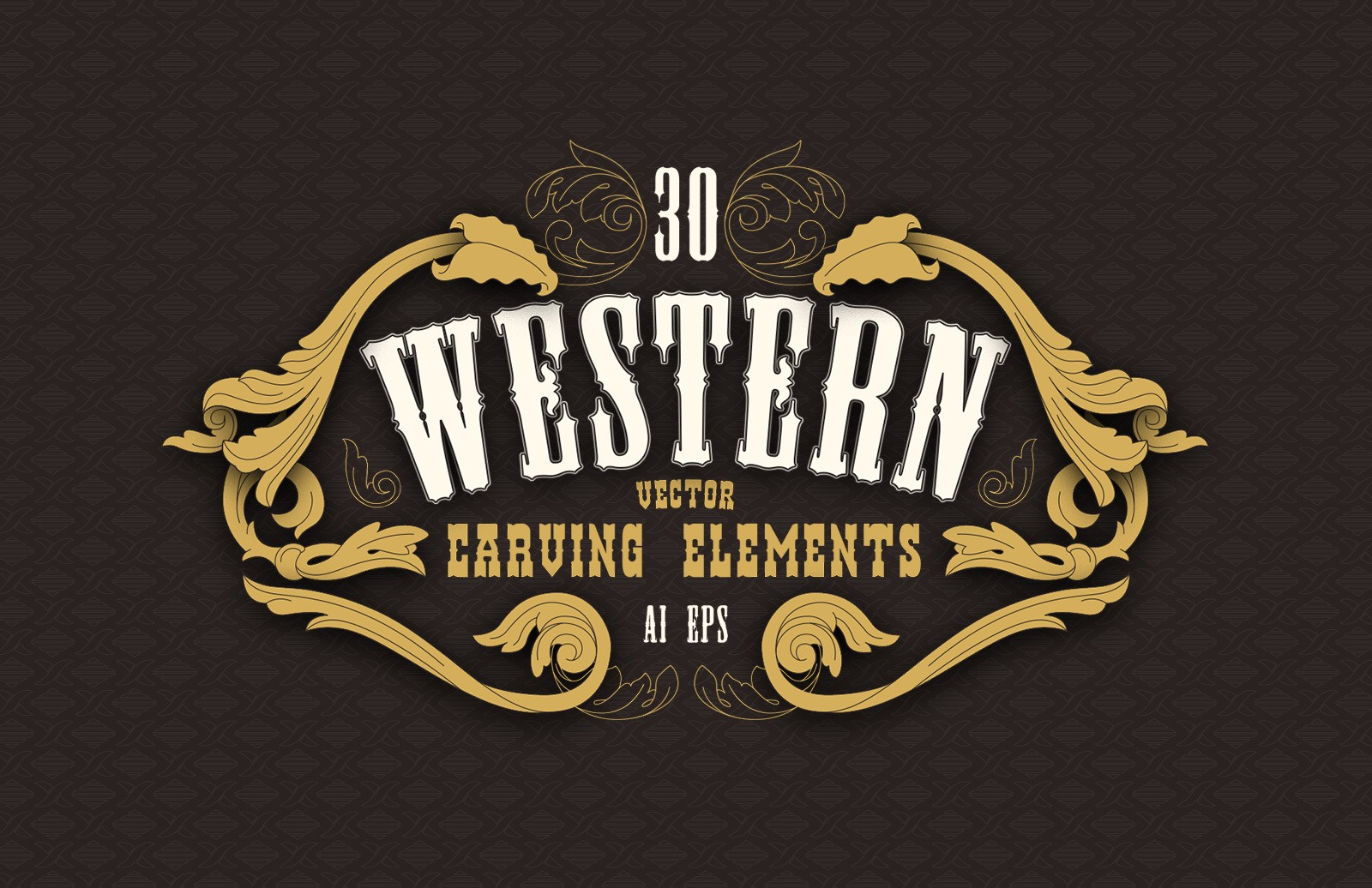 Western Carving Elements Preview 1