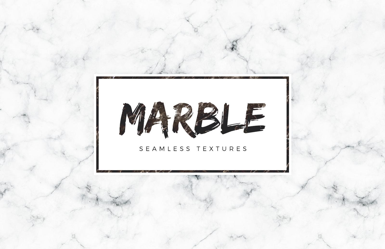 Seamless White Marble Textures