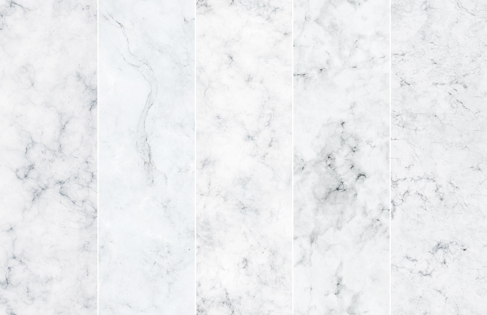 White Marble Seamless Textures Preview 2