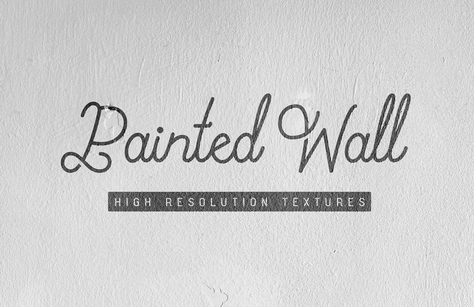White Painted Wall Textures