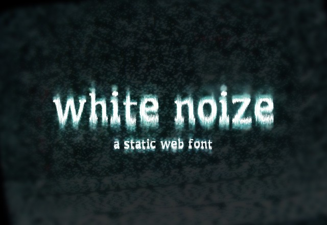 White Noize - Web Font