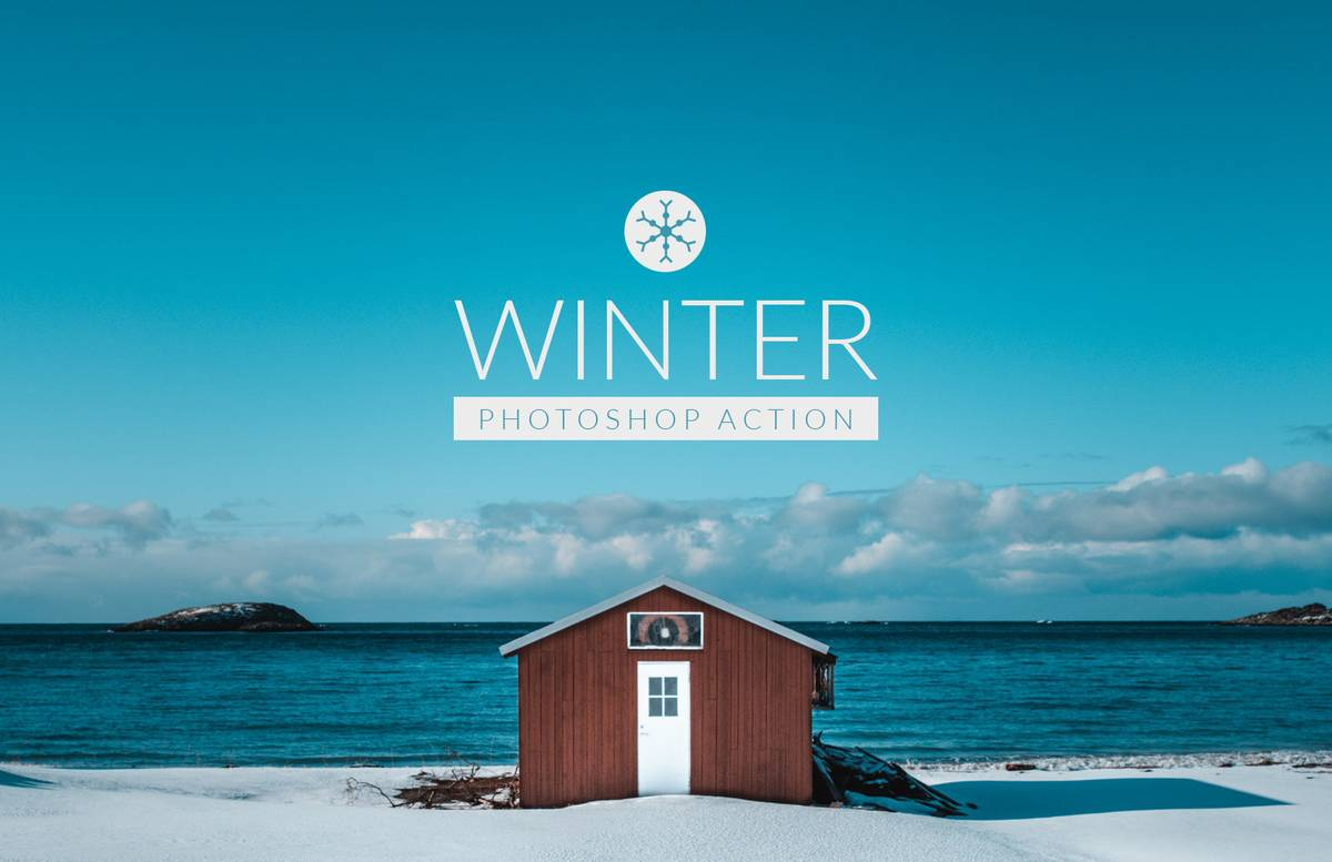 Winter Photoshop Action Preview 1