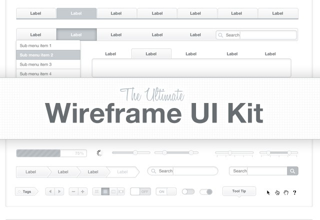 Wireframe  Ui  Kit  Preview11
