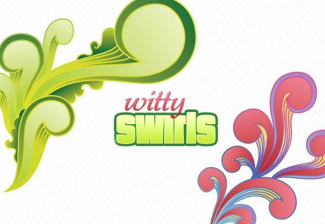 Witty Swirls Vectors
