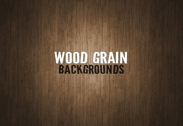 Wood Grain Backgrounds