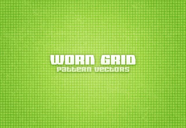 Worn Grid Pattern Vectors