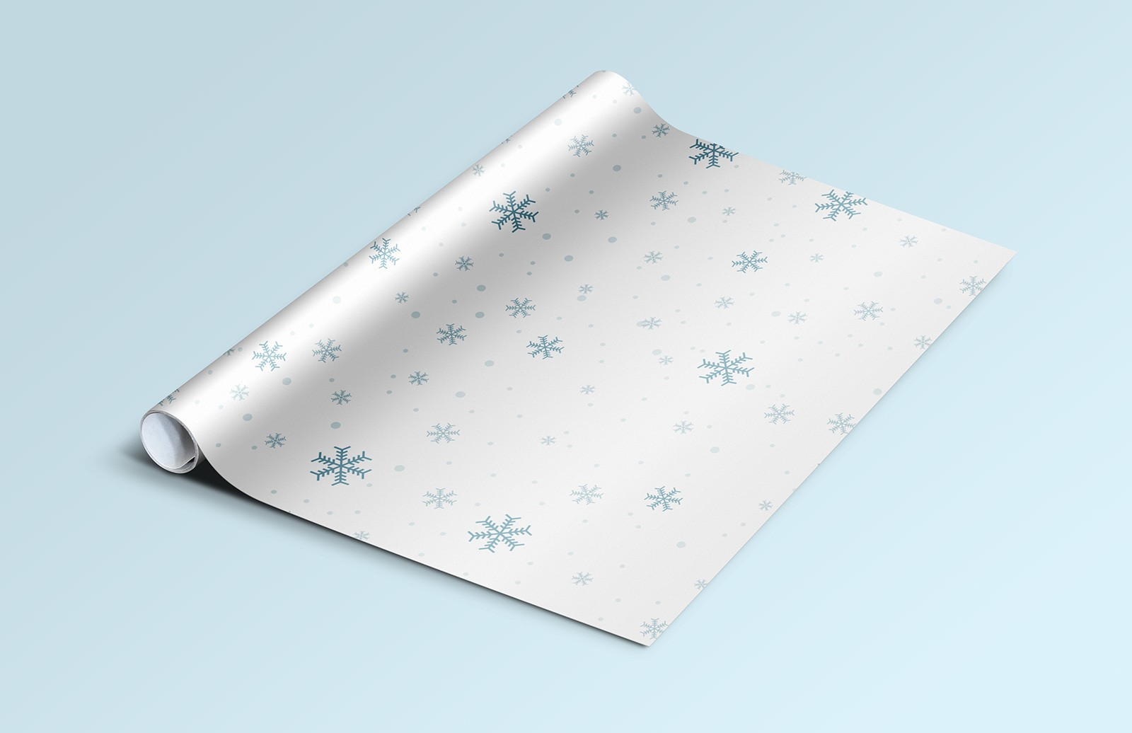 Wrapping Paper Mockup Preview 1