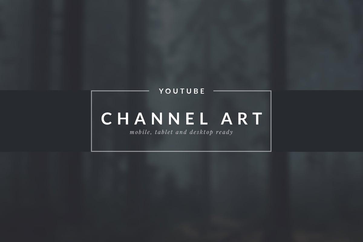 Youtube Channel Art Templates Medialoot