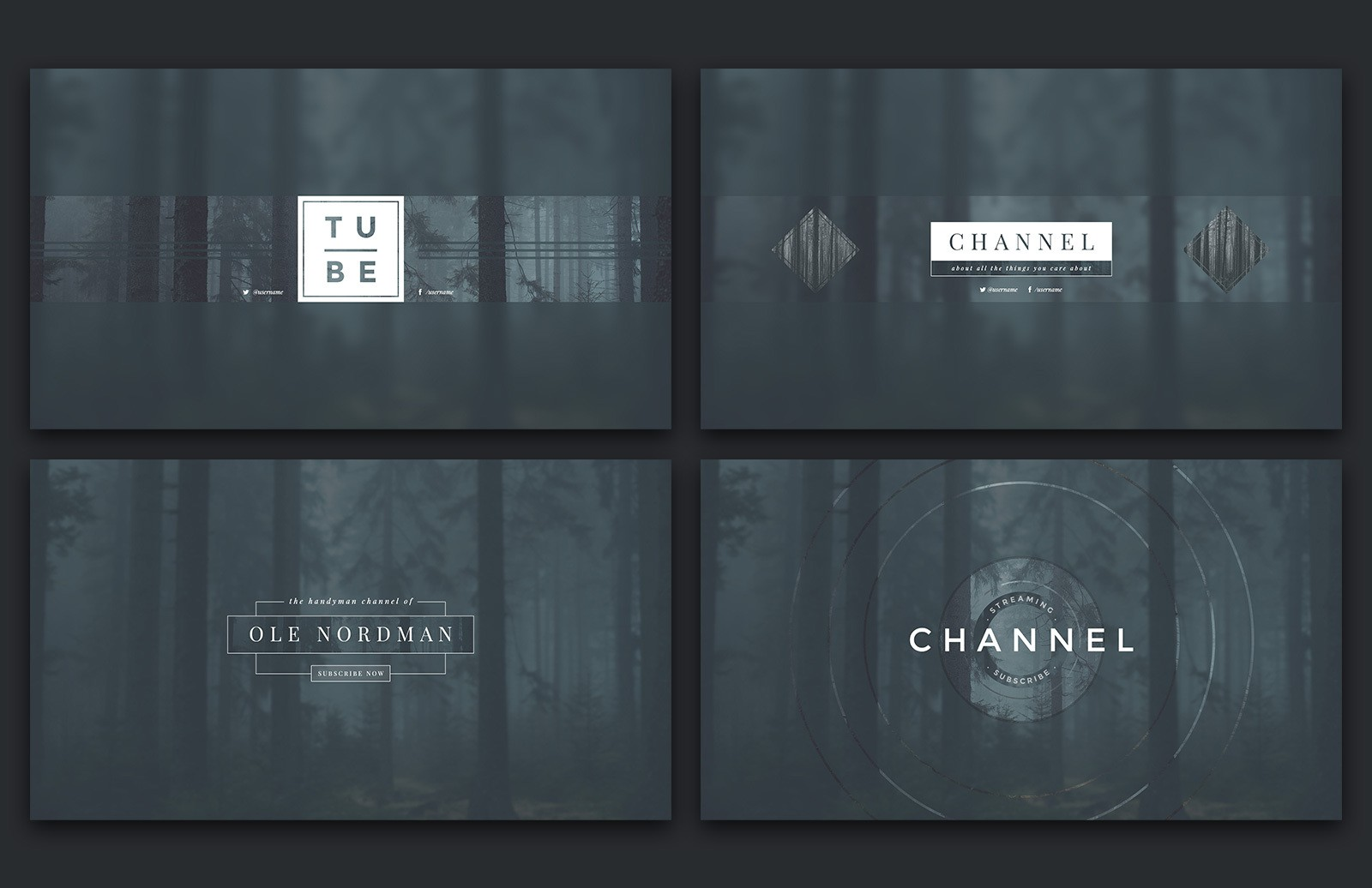 Large You Tube Channel Art Preview 3