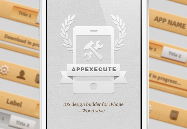 AppExecute: Wood Style