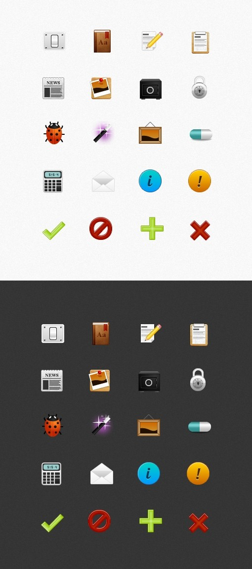 Applied - 48px Icon Pack (Part 1)