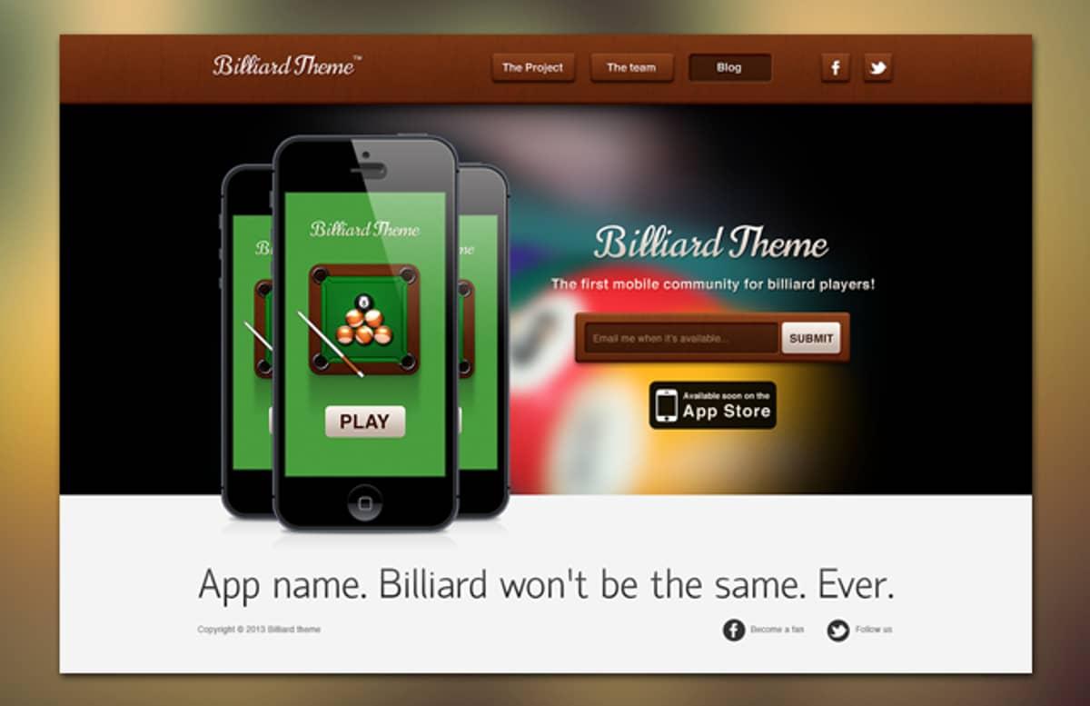 Billiard Theme 1