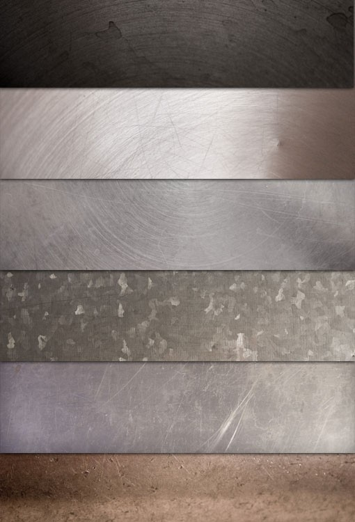 Brushed & Scratched Metal Textures