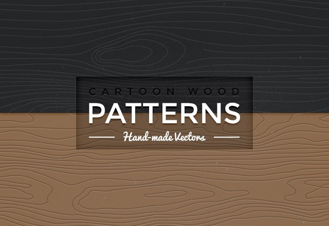 Cartoon Wood Patterns