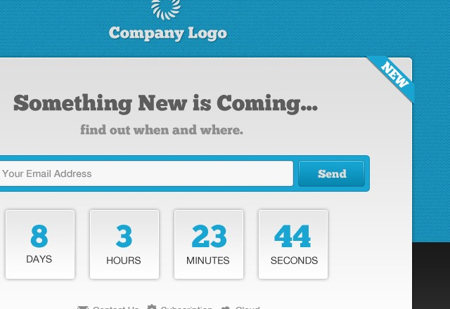 Countdown: Launching Soon Page