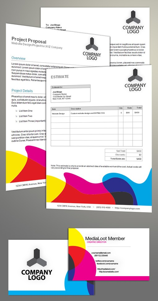 Cmy Stationery Preview