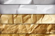 Crumpled Paper Texture Pack Medialoot