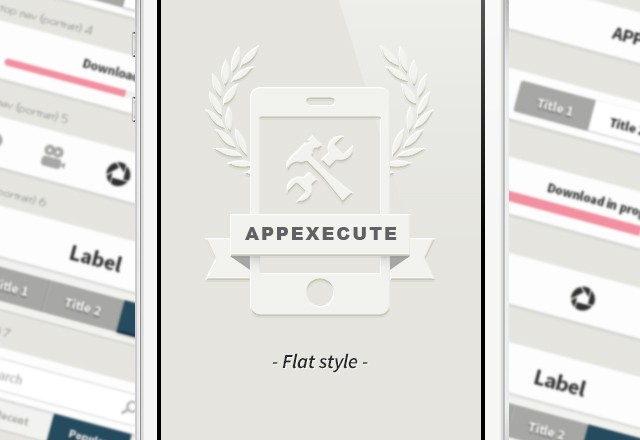 AppExecute: Flat Style