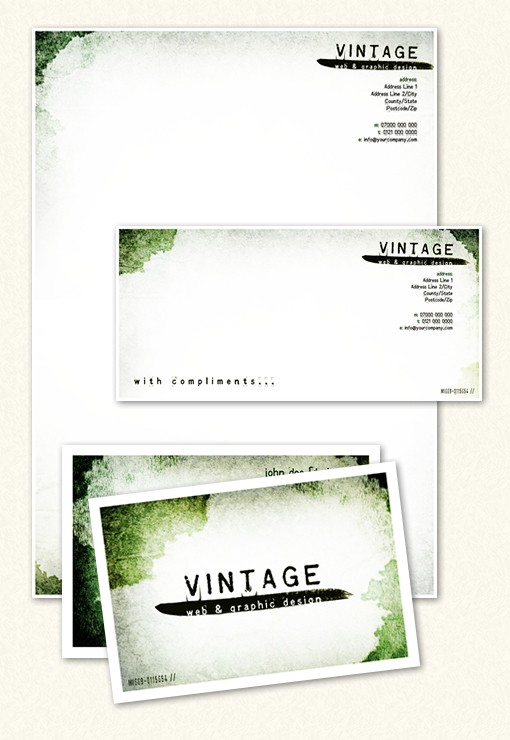 Worn-Out Vintage Stationery Pack