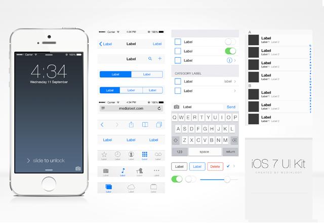 Free iOS UI Kit