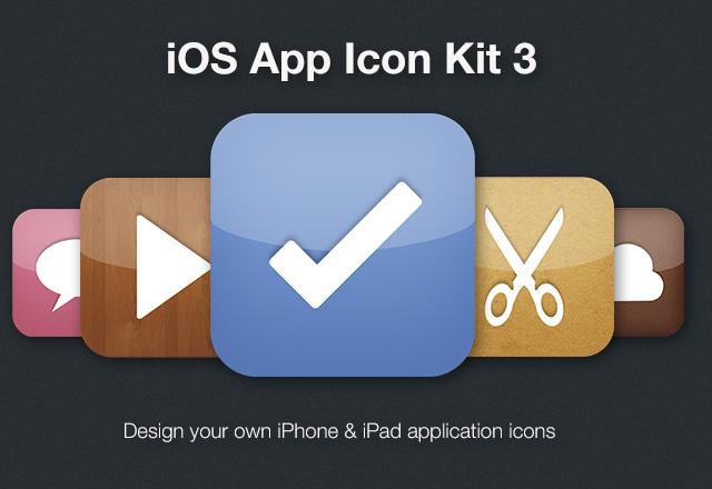 iPhone App Icon Kit 3