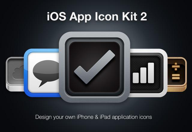 iPhone App Icon Kit 2