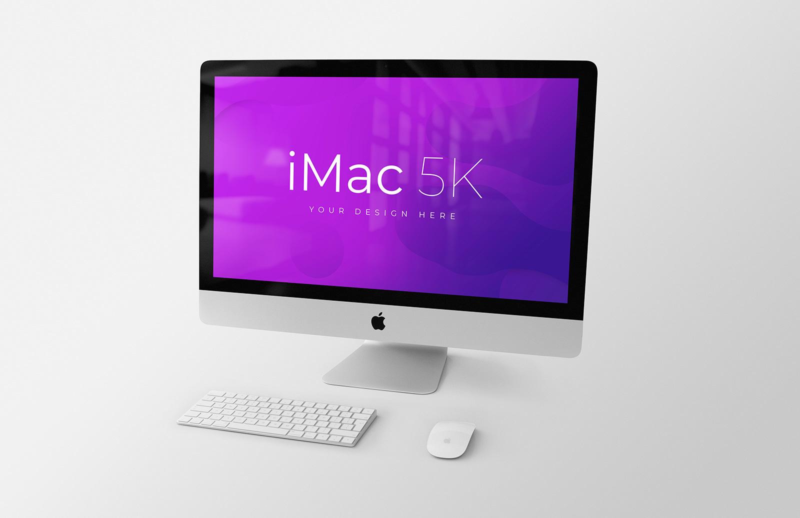 iMac 27-inch Retina 5K Mockup