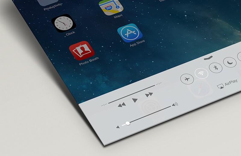 iPad App Perspective Mockup