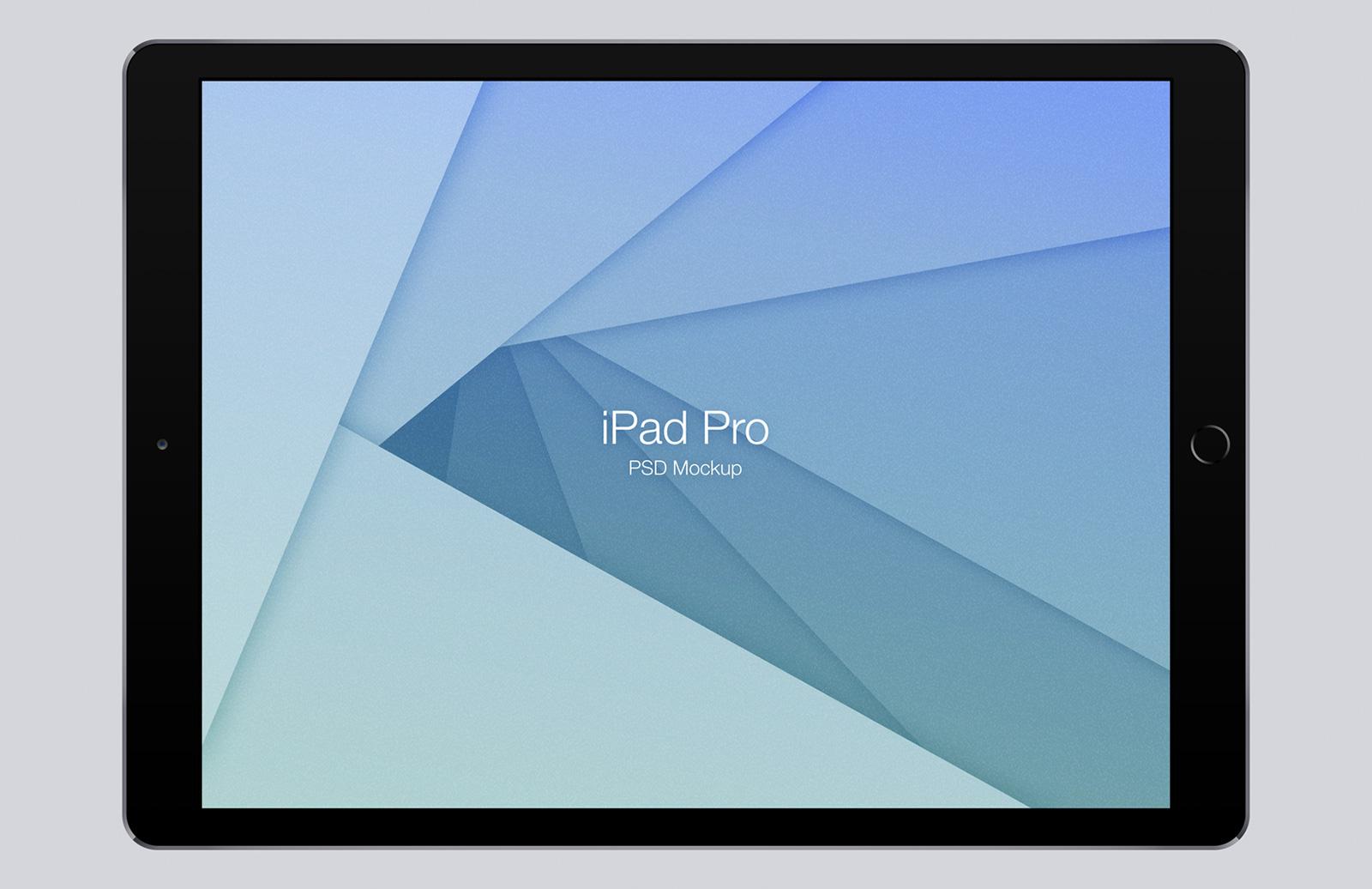 iPad Pro Mockup (Psd) 1