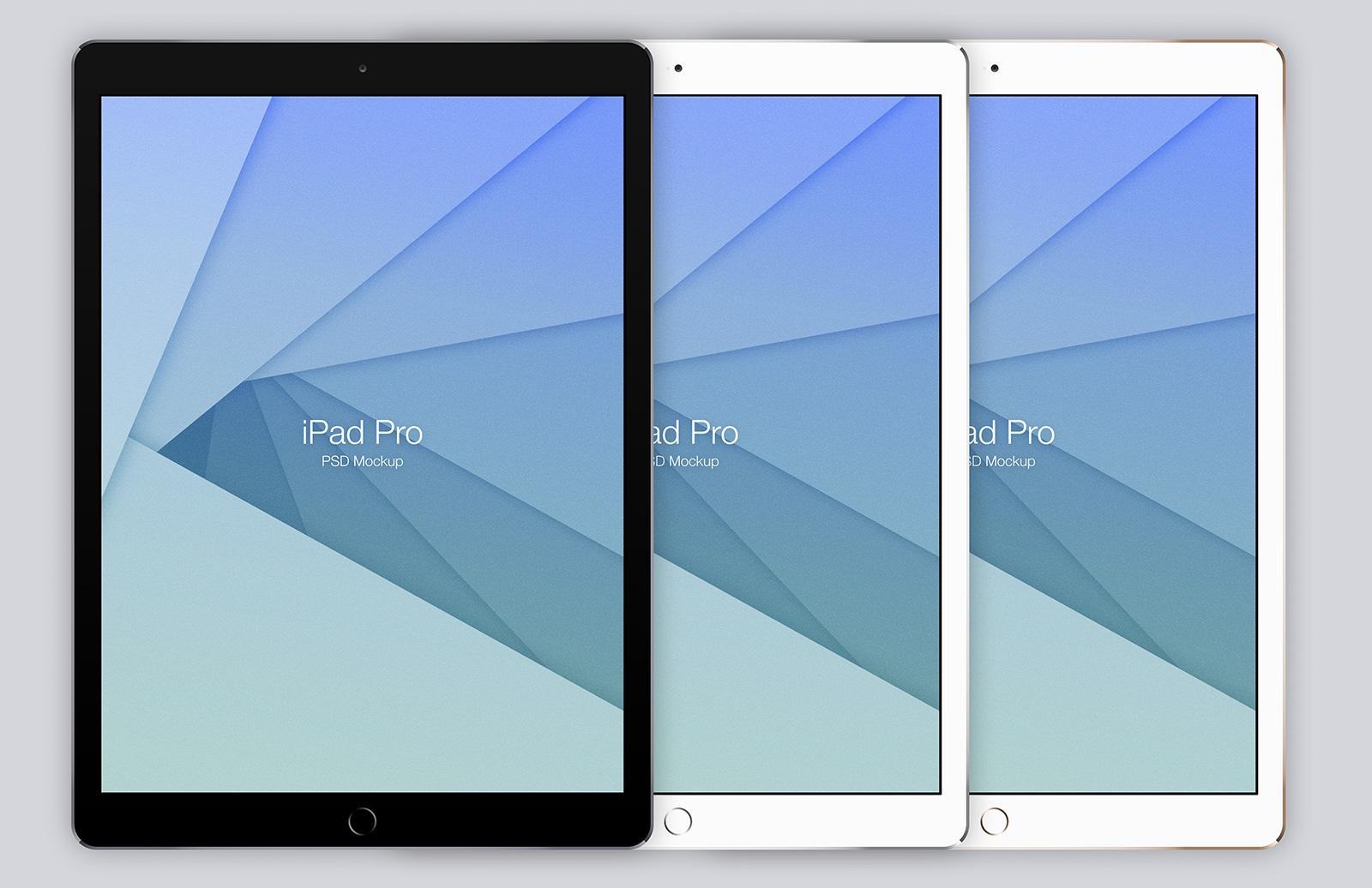 iPad Pro Mockup (Psd) 2