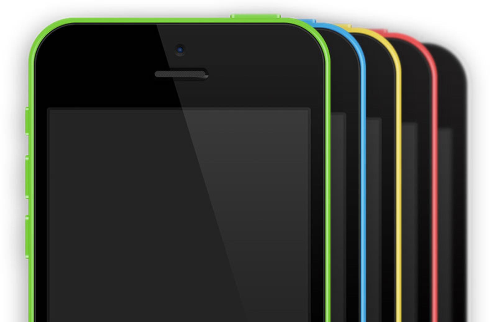 I Phone 5 C  Vector  Psd  Mockup 800X518 1