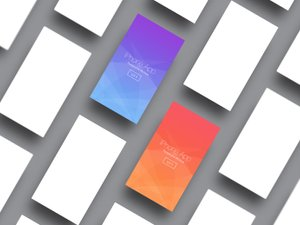 iPhone App Perspective Mockup - Vol 5 1
