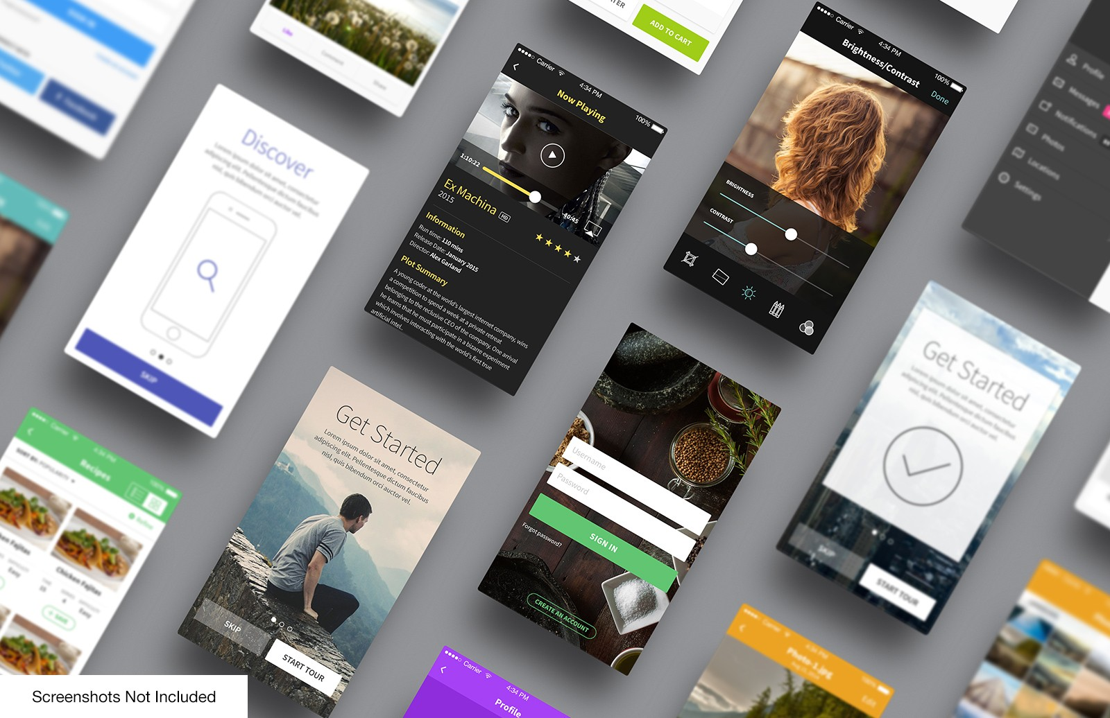Large I Phone  App  Perspective  Mockup  Vol 5  Preview 2