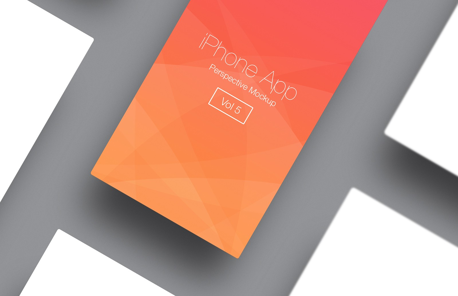 I Phone  App  Perspective  Mockup  Vol 5  Preview 3