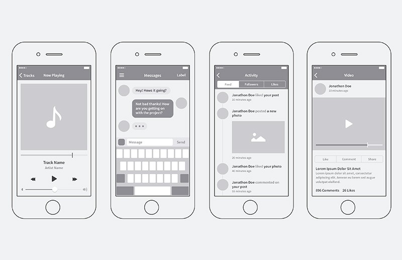 Large I Phone  App  Wireframing  Kit  Preview 4