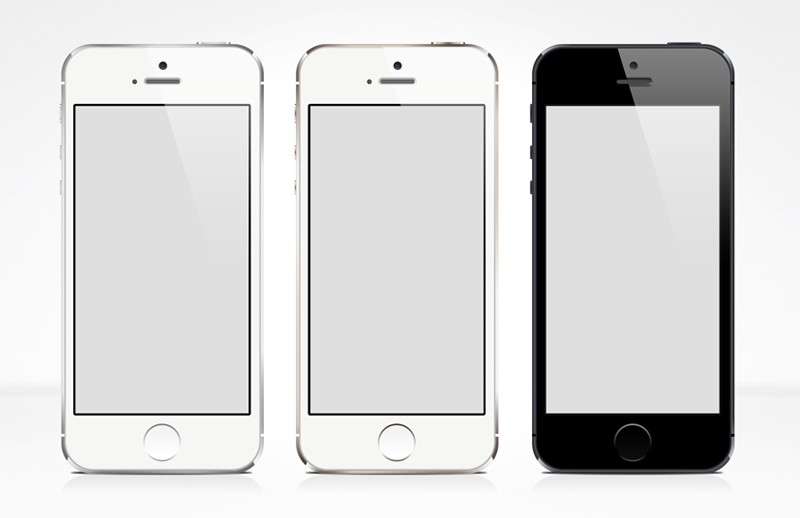 Iphone 5s Free Psd Mock Up Medialoot