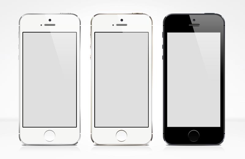 Large I Phone 5 S  Vector  Mockup 800X518 1