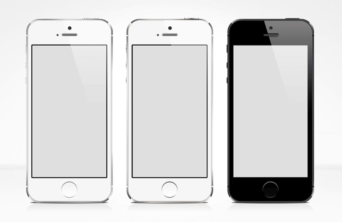 I Phone 5 S  Vector  Mockup 800X518 1