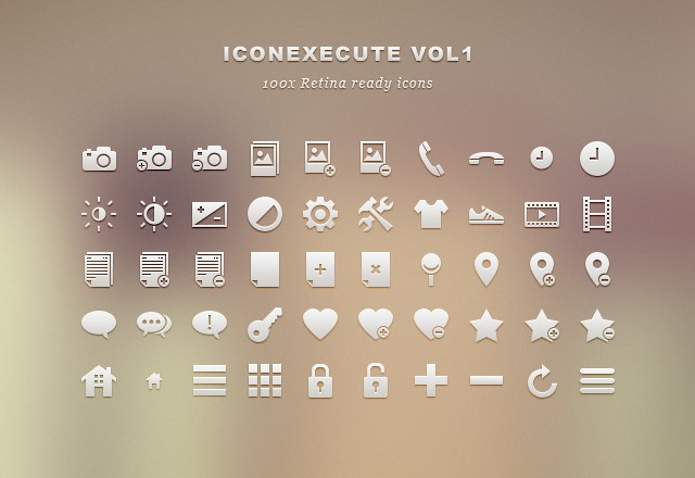 IconExecute Retina Icons vol1