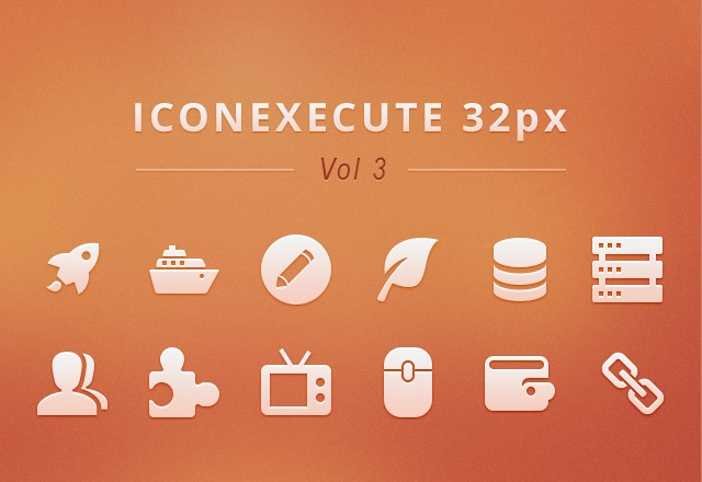 IconExecute Retina Icons Vol3