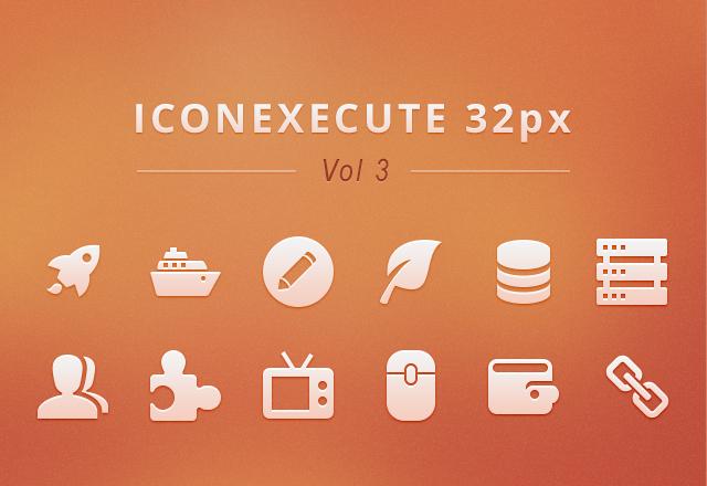 IconExecute Retina Icons Vol3